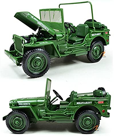 eMart Kids Children Alloy Diecast Model Toy Amy Military Tatical Vehicle Truck Car Simulation Scale 1:18 Gift - (Military Vehicles 1 18)
