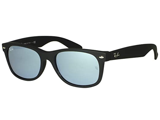bc571267f4a Image Unavailable. Image not available for. Color  Ray Ban RB2132 New  Wayfarer 622 30 Black Rubber ...