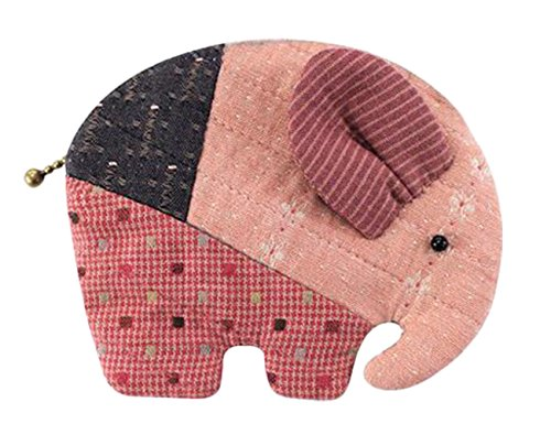 Fun Sewing Projects For Beginners (Teens Girls Elephant Wallet Purse Making Kit Easy Sewing Project Fun Craft Kit (Red))