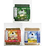 Coco Nori Coconut Wraps Variety Pack - Includes Original, Curry, and Spirulina Flavors