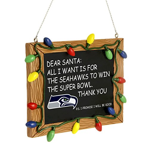 Seattle Seahawks Official NFL Ornament