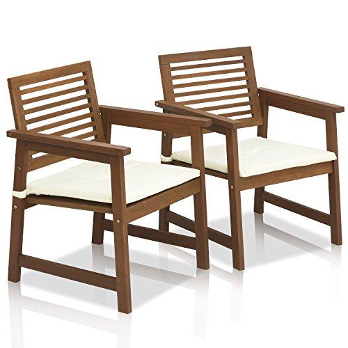 Amazon.com: furinno Tioman Sillón de exterior de madera de ...