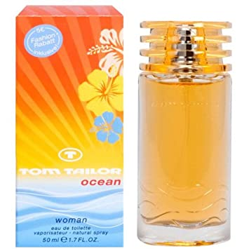 große Auswahl Schnäppchen 2017 geringster Preis Tom Tailor Ocean Woman Eau de Toilette Spray 50 ml: Amazon ...