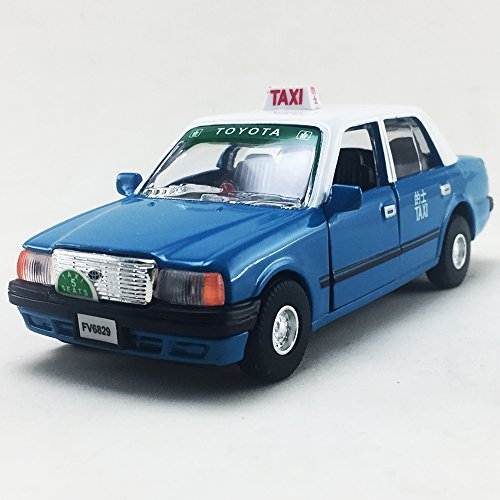 Toyota Van Models - TOYOTA CROWN COMFORT Hong Kong Blue Color TAXI Scale 1:30 Diecast,Model,Toys,Car,Collectible,Collection,Gift