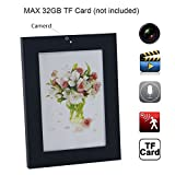 Hanpeng HD Photo Frame Hidden Spy Camera,Home picture Frame Spy Camera Security Mini Motion Camcorder