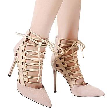 Sandalias de Vestir Plataforma tacón Alto de Playa para Mujer Verano 2018 Sandalias de Vestir Mujer Sandalias de Vestir Tacon Alto Zapatos de tacón Rojos de ...