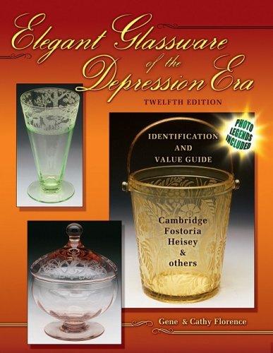 Elegant Glassware Depression Era Identification product image