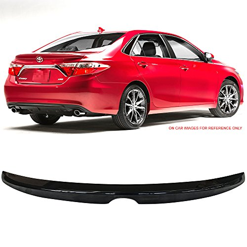 - Pre-Painted Trunk Spoiler Fits 2015-2016 Toyota Camry | OE Style Painted #218 Attitude Black Mica ABS Flush Mount Trunk Boot Lip Spoiler Wing Deck Lid Other Color Available By IKON MOTORSPORTS
