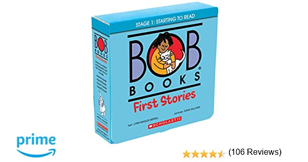 Amazon.com: Bob Books: First Stories (9780545734097): Lynn Maslen ...