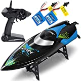 ANTAPRCIS 25km/h RC Boat, 2.4GHz Race Boat for Pool and Lakes, 180 Degree