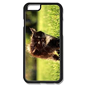 Btbk XY Funny Naughty Little Black Cat Case Cover For IPhone 6