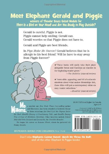 Pigs Make Me Sneeze! (An Elephant and Piggie Book) (An Elephant and Piggie Book, 10)