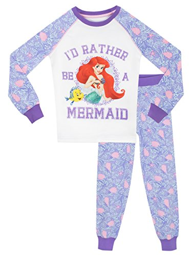 Disney Girls' The Little Mermaid Pajamas Size 5