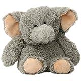 Intelex Cozy Plush Elephant Microwaveable Warmer