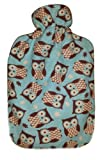 Product review for Warm Tradition Owls 100% Cotton Flannel Hot Water Bottle Cover - COVER ONLY- Made in USA