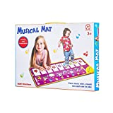 NoRi Piano Mat, Foldable Musical Mat [ 39'' x 14'', 14 Keys ] Baby Dance Music Piano Carpet Blanket Toys Gift for Kids Girls