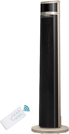 Opinión sobre FHDF Silencioso Ventilador De Torre con Mando a Distancia Portátil Oscilante 3 Velocidades 3 Viento para El Hogar Y La Oficina Temporizador (Negro, 40w 103 cm)