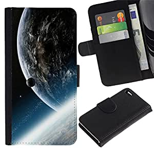 All Phone Most Case / Oferta Especial Cáscara Funda de cuero Monedero Cubierta de proteccion Caso / Wallet Case for Apple Iphone 4 / 4S // Space Planet Galaxy Stars 33