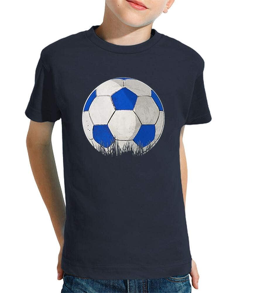 latostadora - Camiseta Balon para Nino y Nina Azul Marino L ...
