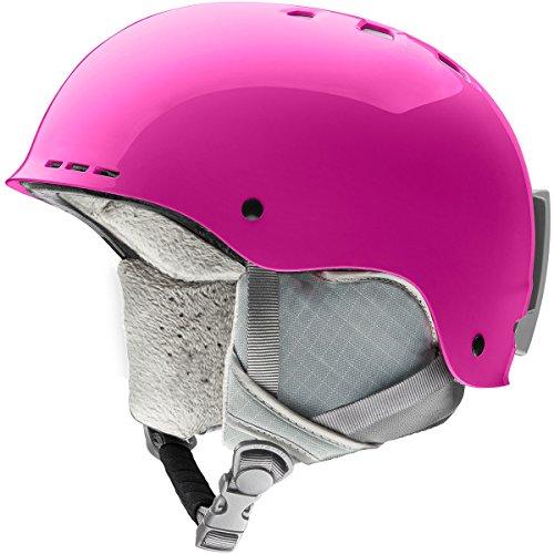 - Smith Optics Holt Jr Youth Ski Snowmobile Helmet - Magenta/Medium