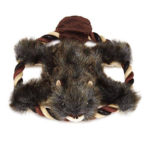 Fuzzy Beaver (Grriggles Plush Fuzzy Flyers Dog Toy, Beaver, 8-Inch)