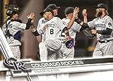 2017 Topps Baseball Series 2 #583 Colorado Rockies Rockies