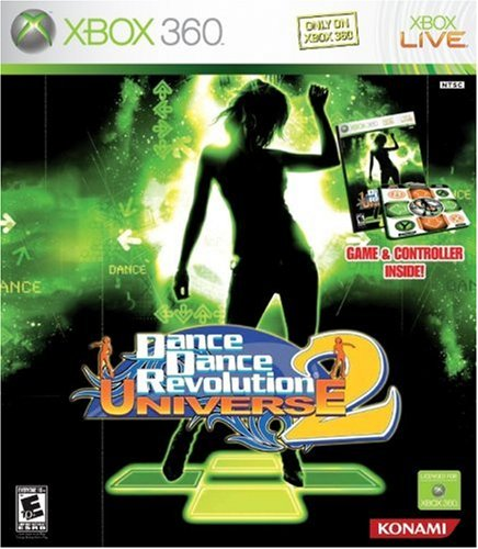 Dance Dance Revolution Universe 2 Bundle (with Dance Mat) -Xbox 360 by Konami