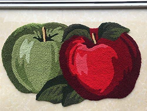 Abreeze Fruit Rug Apple Orchard Bath Rug//Kitchen Area Rug 17.7x 31.49