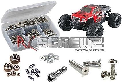 RCZARRM016 RC Screwz Arrma Granite 4x4 Mega Stainless Steel Screw Kit
