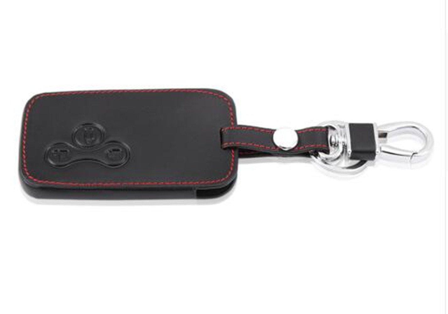 Happyit Leather Car Remote Key case per Renault Megane r.s Scenic 3/tasto di chiave Smart Key