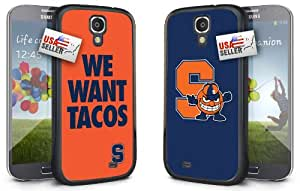 OneDreamCases - Syracuse Orange 'We Want Tacos' Hard Case TWO PACK for Samsung S4 Mini
