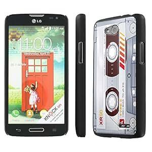 NakedShield LG Optimus L90 (Cassette Clear) SLIM Art Phone Cover Case