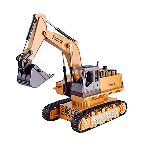 Clearance Sale!DEESEE(TM)Car Excavator Constructing Truck Crawler Digger Electric Toy Remote Control ()