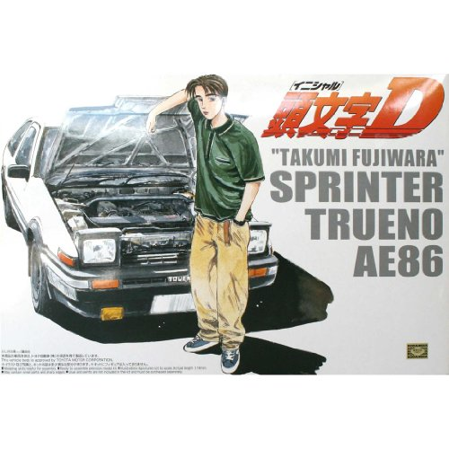 Initial D Poster On Silk <89cm x 60cm, 36inch x 24inch> - 944ECB (Initial D Scroll Wall)