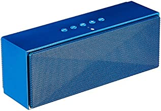 AmazonBasics - Altoparlanti Bluetooth portatili - Blu