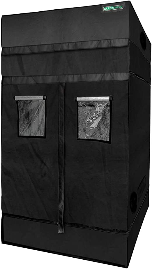 "ULTRA YIELD 48""x48""x84"" + 12"" Extension Grow Tent - The Most Durable"