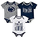 NCAA Penn State Nittany Lions Newborn & Infant Little Tailgater Bodysuit, 12 Months, Dark Navy