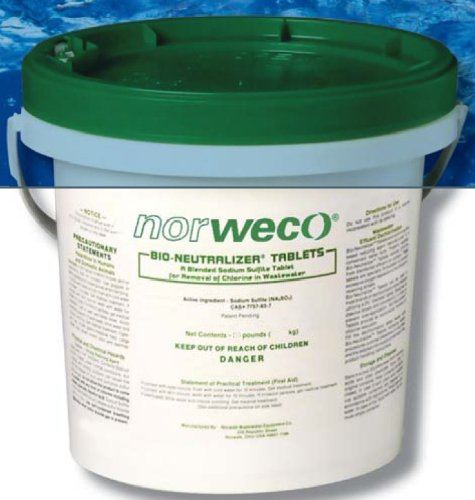 Norweco Bio-Neutralizer Septic Wastewater Dechlorinaton 45 lbs