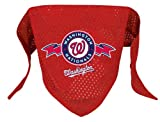 Washington Nationals Pet Dog Baseball Jersey Bandana M/L