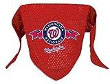 Washington Nationals Pet Dog Baseball Jersey Bandana S/M