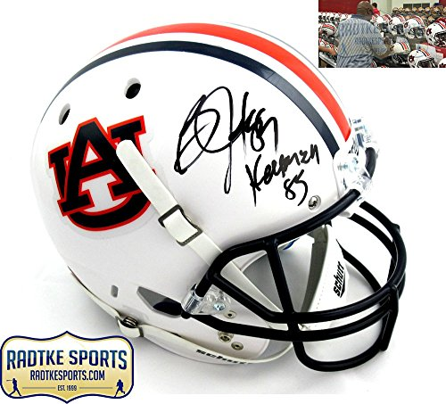 Bo Jackson Autographed/Signed Auburn Tigers Schutt Full Size Helmet with