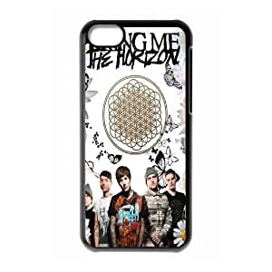 wugdiy DIY Protective Snap-on Hard Back Case Cover for iPhone 5C with Bring Me The Horizon