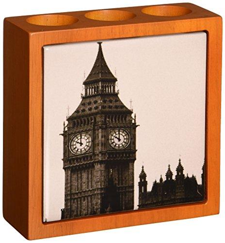 Rikki Knight Vintage Big Ben Clock Tower Design  Inch Til...