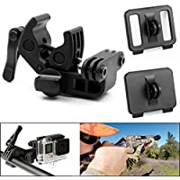 Sportsman Mount for Gopro,LOTOPOP Gopro Clamp Gun Rifle Barrel Rail Bow Fishing Rod for GoPro Hero 3+ Hero4