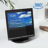 Echo Show Stand,360 Rotatable Mount Holder for Echo Show with Precision Bearings,Full Aluminum Echo Show Accessories,Stable metal Protection for Echo Show,Safety Bracket for Amazon echo show