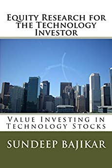 Equity Research for the Technology Investor: Value