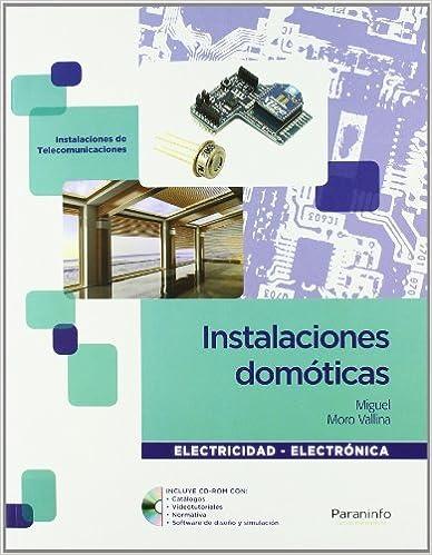 Libro sobre Instalaciones domóticas