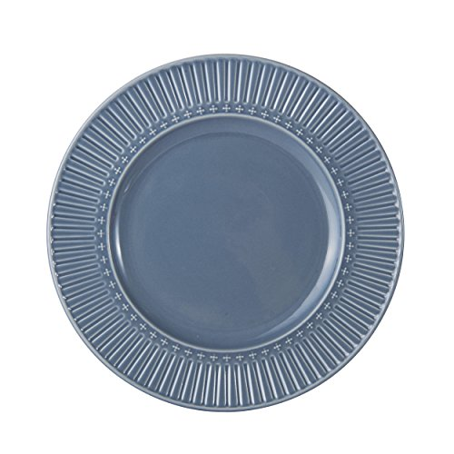 Mikasa Italian Countryside Accents Salad Plate, Fluted Blue