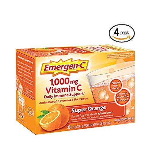 Amazon.com: Emergen-C Vitamina C Fizzy mezcla de bebidas ...