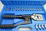 Gowe® Hydraulic Crimping Plier, Hydraulic Compression Tool, Hydraulic Crimping Tool (Safety valve inside) Crimping range 10-240mm2